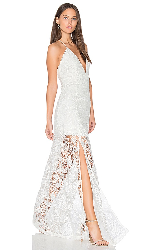 THE JETSET DIARIES Fez Maxi Dress in White