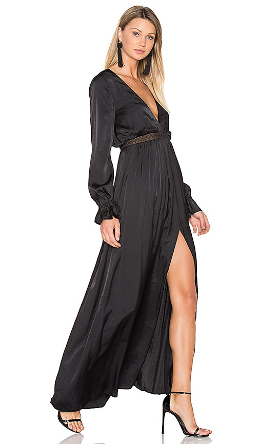 THE JETSET DIARIES x REVOLVE Olivia Maxi Dress in Black