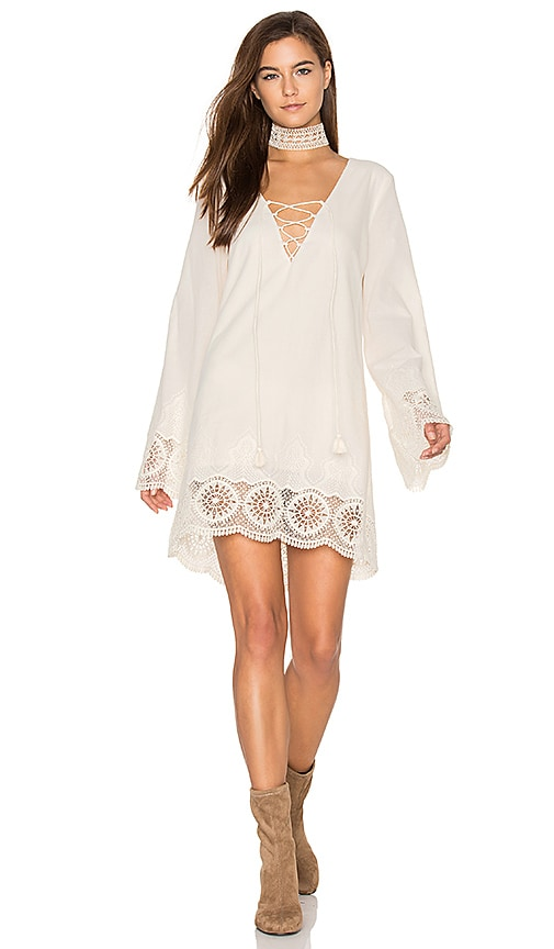 THE JETSET DIARIES Cisterna Tunic in Cream