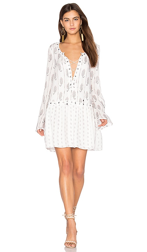 THE JETSET DIARIES Hayworth Mini Dress in White
