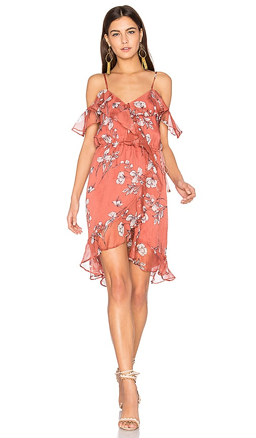 THE JETSET DIARIES Oasis Floral Mini Dress in Pink