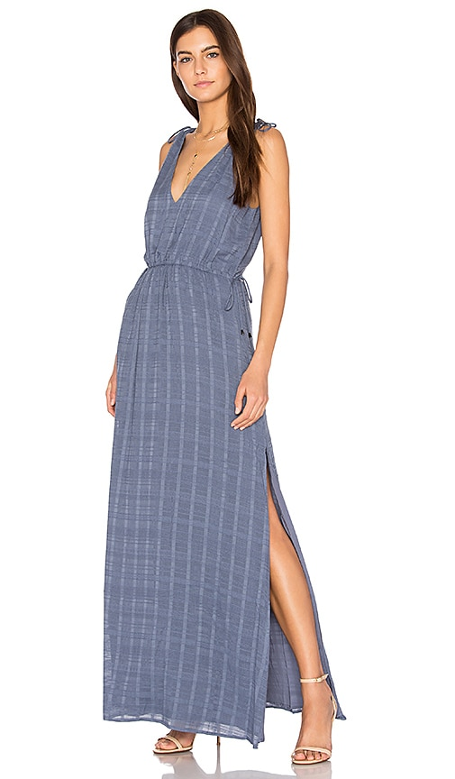 THE JETSET DIARIES Destination Maxi Dress in Blue