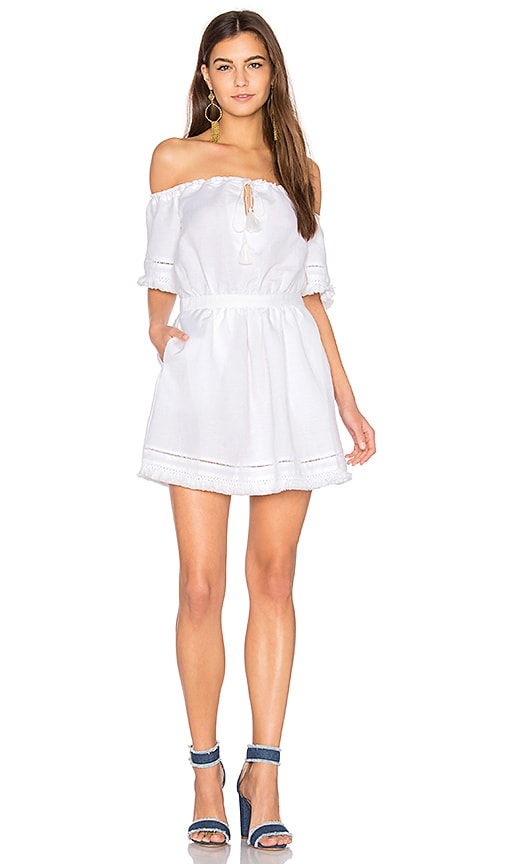 THE JETSET DIARIES Turismo Mini Dress in White