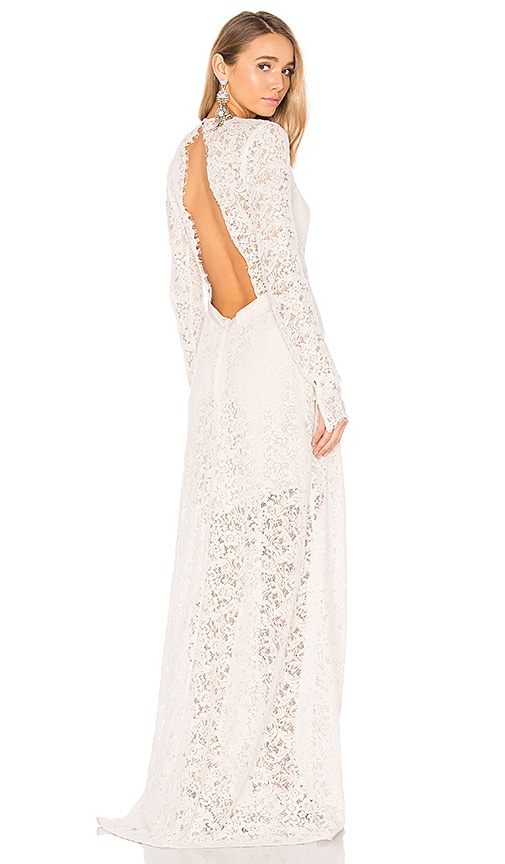 THE JETSET DIARIES Voyage Maxi Dress in Beige