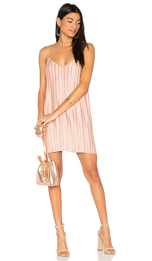 THE JETSET DIARIES Primavera Mini Dress in Pink