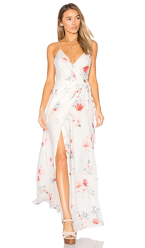 THE JETSET DIARIES Isabella Maxi Dress in White