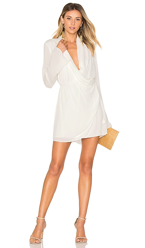 THE JETSET DIARIES Korana Mini Dress in White