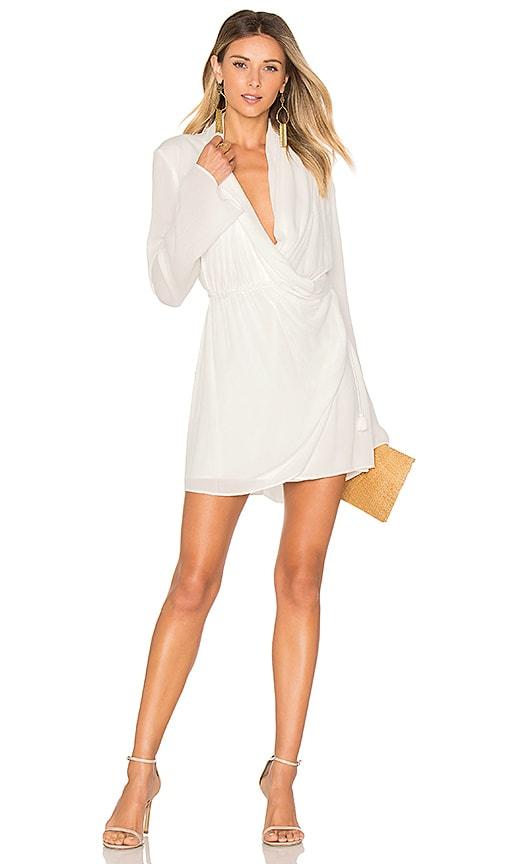 THE JETSET DIARIES Korana Mini Dress in White