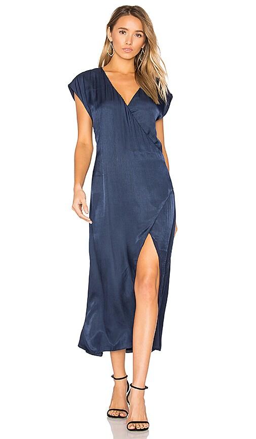 THE JETSET DIARIES Iris Dress in Navy