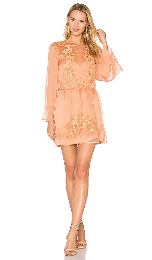 THE JETSET DIARIES Melita Dress in Coral