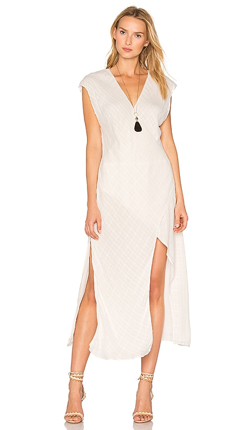 THE JETSET DIARIES Iris Dress in Ivory