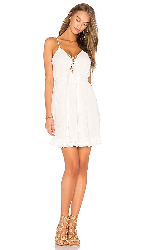 THE JETSET DIARIES Cape Town Dress in White