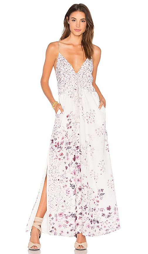 2a38842ed9c The Jetset Diaries Flora Maxi Dress In Light Gray