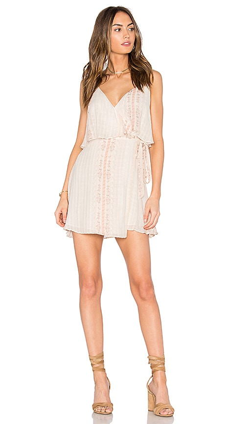 THE JETSET DIARIES Halcyon Mini Dress in Blush