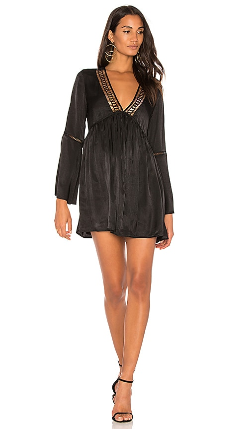 THE JETSET DIARIES Whistler Tunic in Black