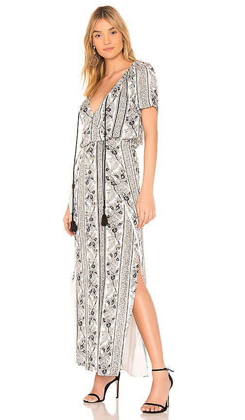THE JETSET DIARIES Cascara Maxi Dress in Black