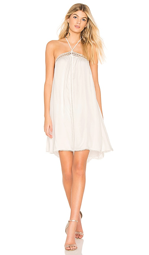 THE JETSET DIARIES Wildwood Mini Dress in White