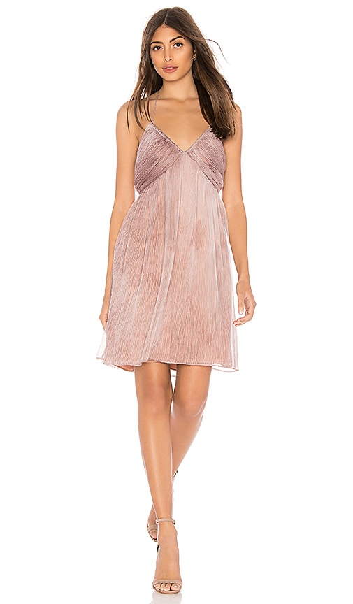Margot Mini Dress in Mauve. - size M (also in L,S,XS) The Jetset Diaries