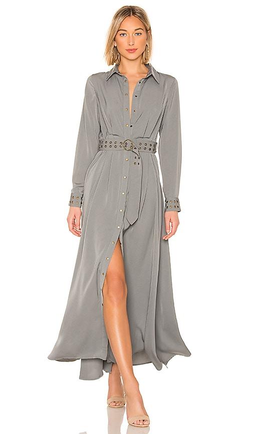 Mod Maxi Shirt Dress