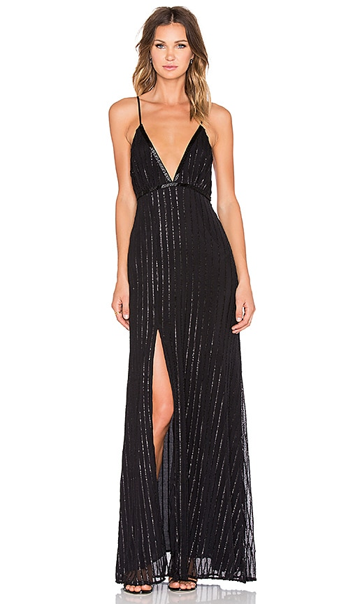 THE JETSET DIARIES Notte Maxi Dress in Black