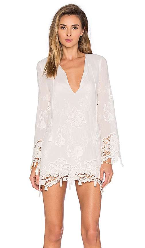 THE JETSET DIARIES Island Time Tunic in White
