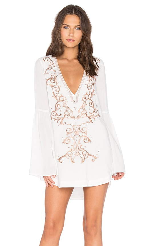 THE JETSET DIARIES x Revolve Goddess Tunic Dress in Ivory