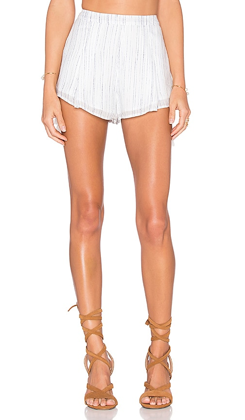 THE JETSET DIARIES Mystic Short in White