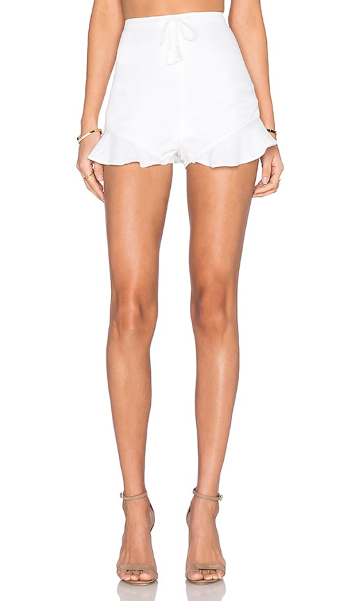 THE JETSET DIARIES Twilight Short in White