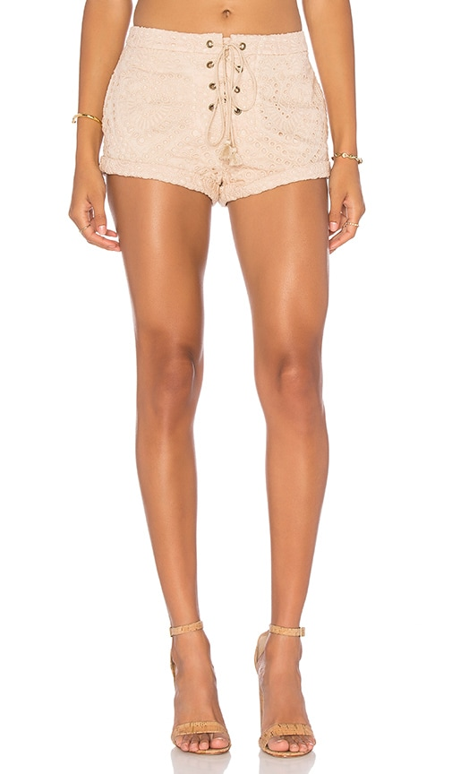 THE JETSET DIARIES Santa Fe Short in Tan