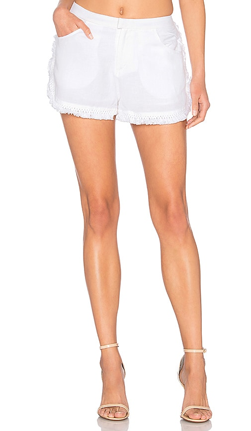 THE JETSET DIARIES Turismo Shorts in White