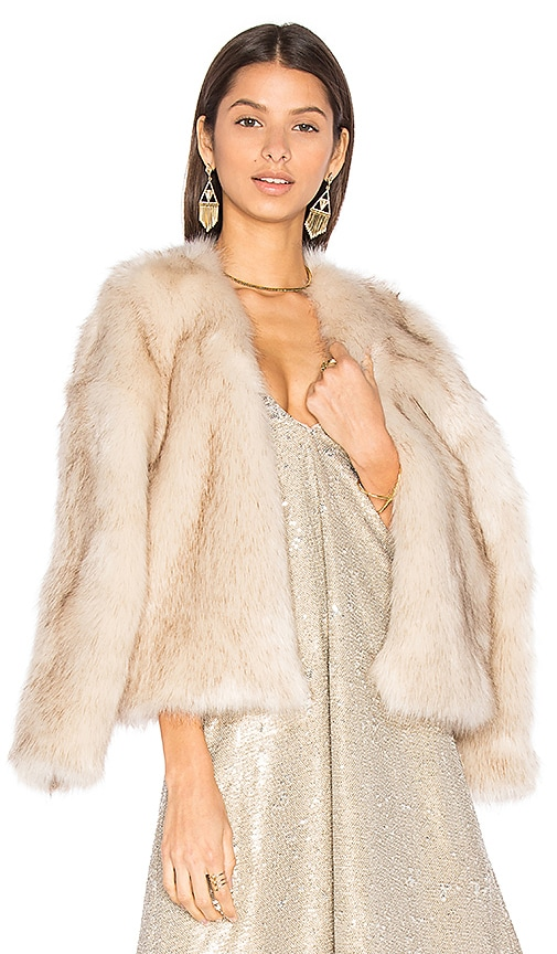 Chatel Faux Fur Coat