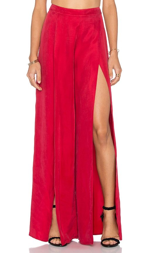 THE JETSET DIARIES La Paz Pant in Red