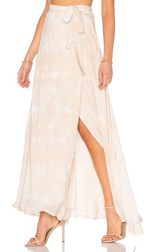 THE JETSET DIARIES Kingston Maxi Skirt in Kingston Tie Dye