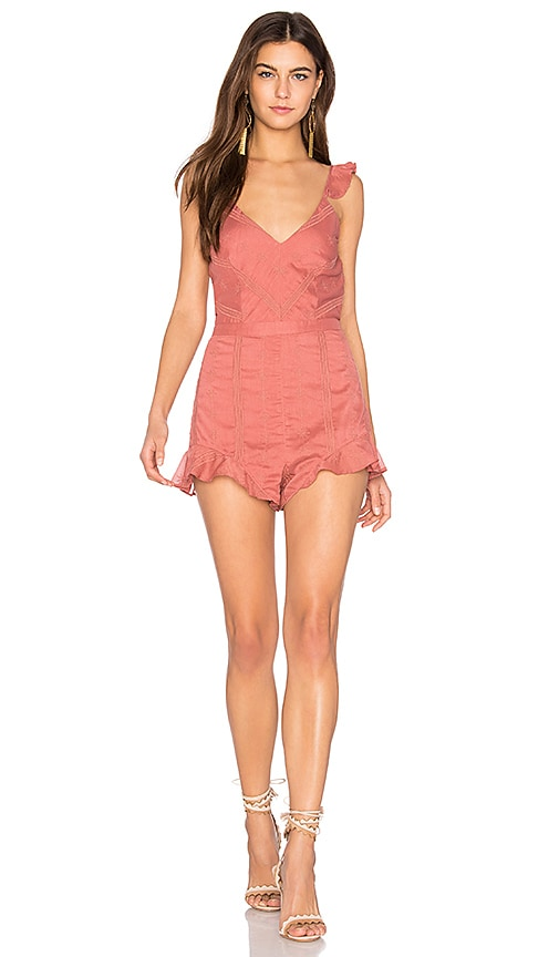 THE JETSET DIARIES Getaway Romper in White