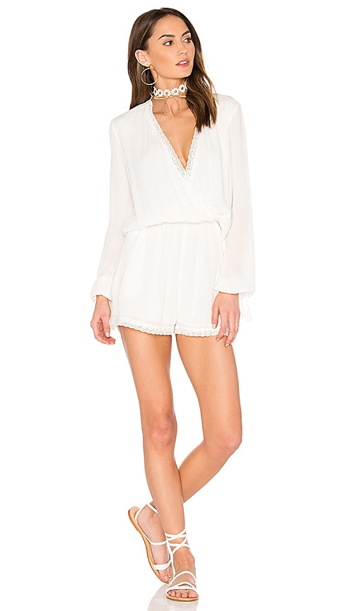 THE JETSET DIARIES Velles Romper in Ivory