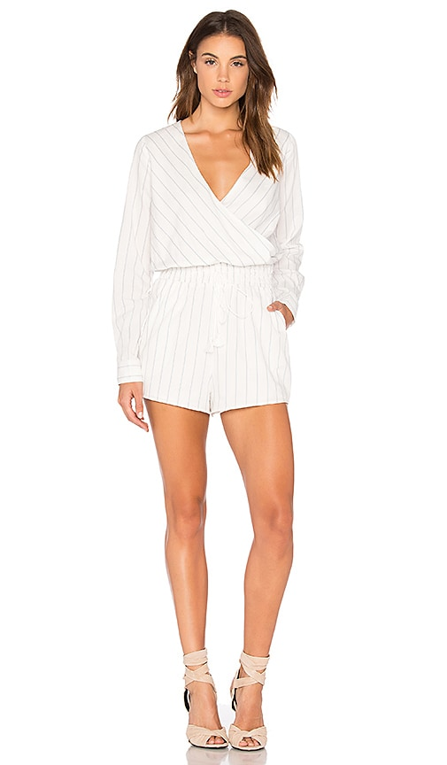THE JETSET DIARIES Anika Romper in White
