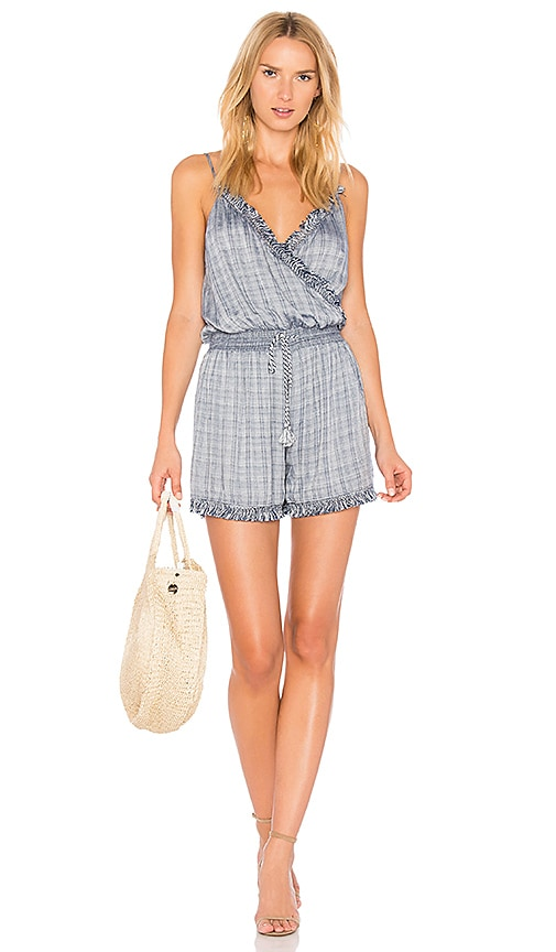 THE JETSET DIARIES River Romper in Blue