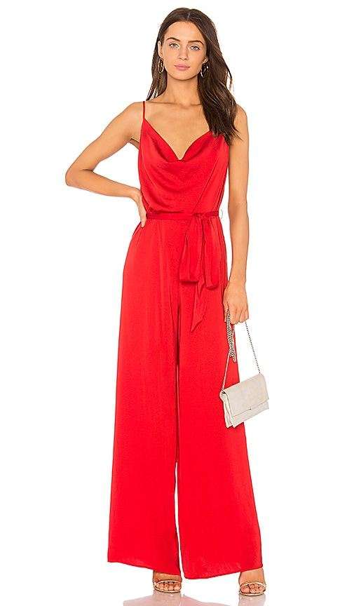 THE JETSET DIARIES Ellil Jumpsuit in Red
