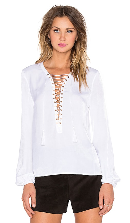 THE JETSET DIARIES x REVOLVE Delta Top in White