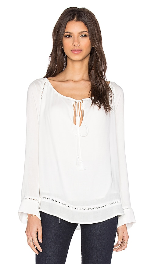 THE JETSET DIARIES Pozzo Blouse in Ivory