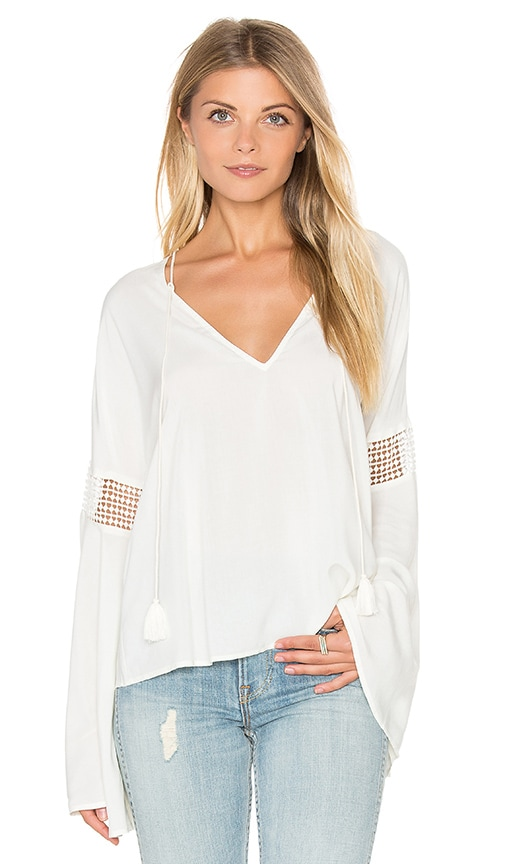 THE JETSET DIARIES Hammock Blouse in Ivory