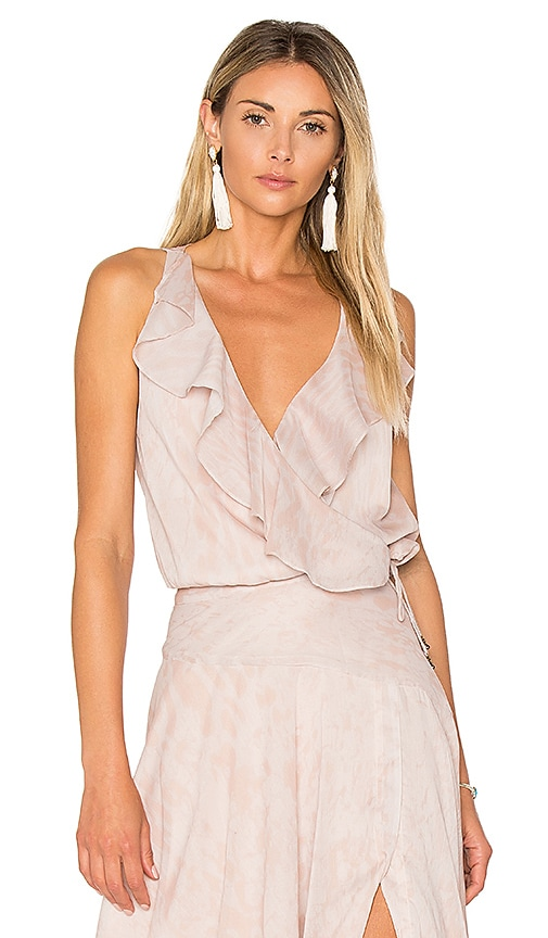 THE JETSET DIARIES Zambia Top in Blush