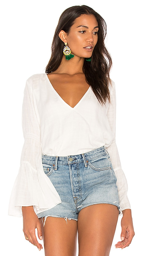 THE JETSET DIARIES River Top in White