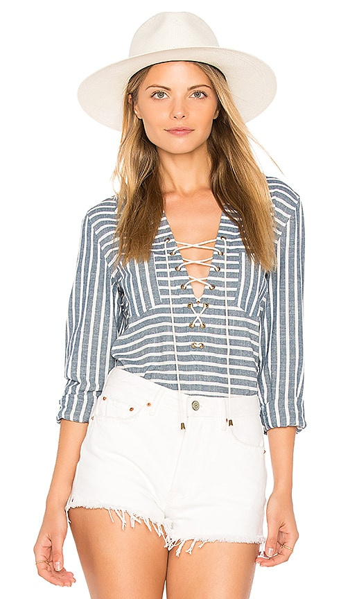 THE JETSET DIARIES Haven Shirt in Navy