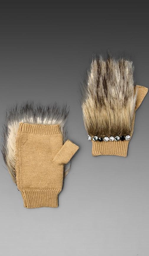 Faux Fur Handwarmers