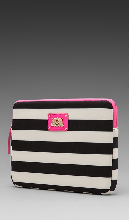 Bar Stripe Neoprene iPad Case