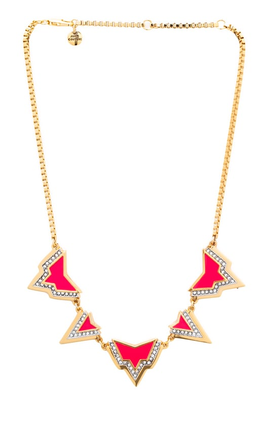 Deco'd Out Angular Spike Necklace