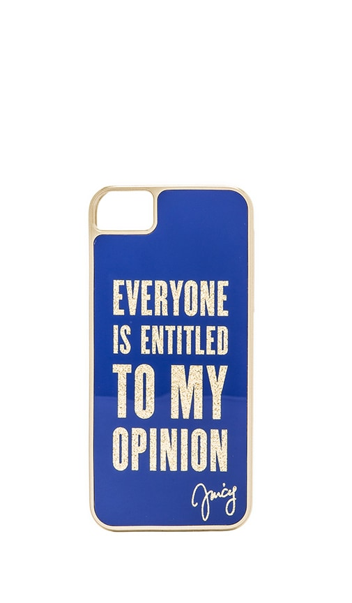 Everyone is Entitled iPhone 5 Case