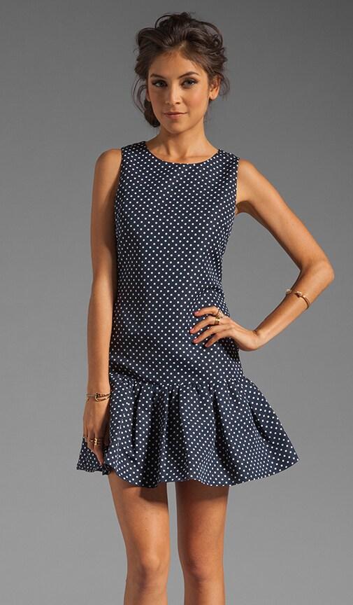 Flirty Dots Sleeveless Dress