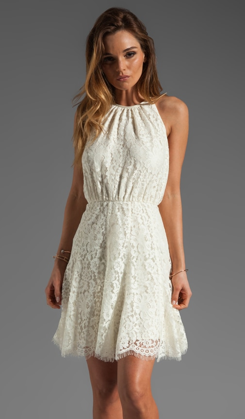 Scallop Lace Dress
